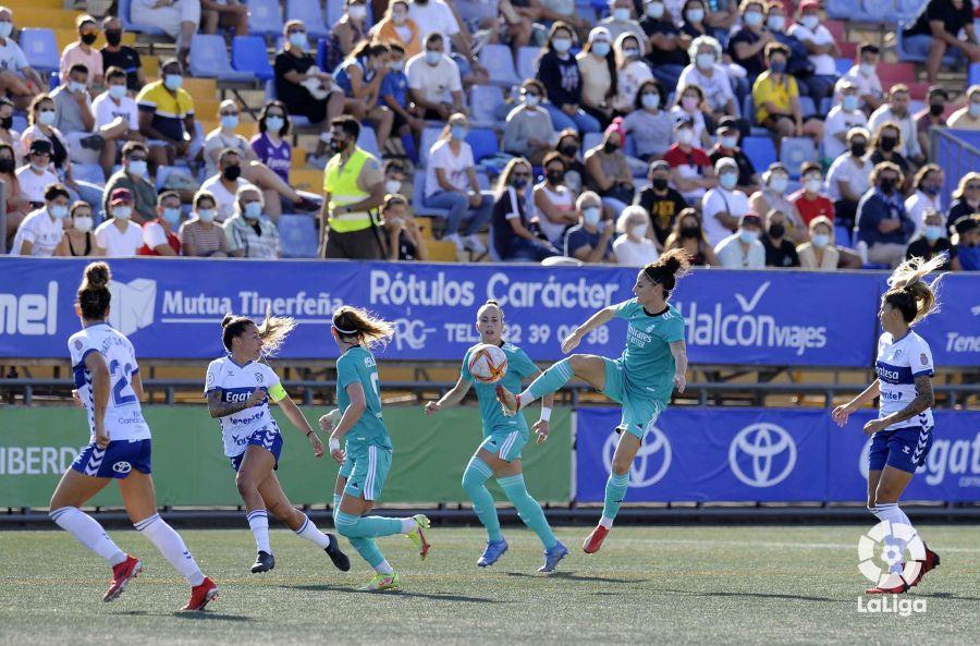 El <strong><a  data-cke-saved-href='https://vavel.com/es/futbol/2021/09/24/real-madrid/1086964-el-mediocampo-del-real-madrid-se-rejuvenece.html' href='https://vavel.com/es/futbol/2021/09/24/real-madrid/1086964-el-mediocampo-del-real-madrid-se-rejuvenece.html'>Real Madrid</a></strong> consiguió el empate en el 85' | Fuente: LaLiga.es