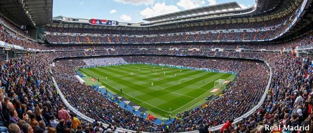 Estadio Santiago Bernabéu / Fuente: Real Madrid Web Oficial