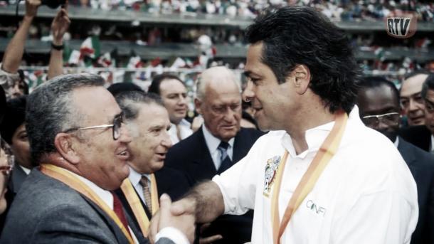 Miguel Mejía Barón con Pumas | Foto: RTV