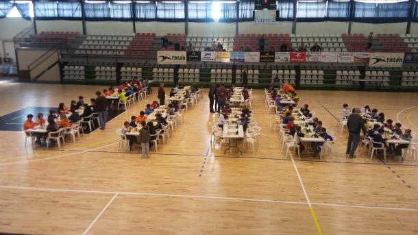 Uno de los torneos organizados por EDAPA. | Foto: Club de Ajedrez Paterna