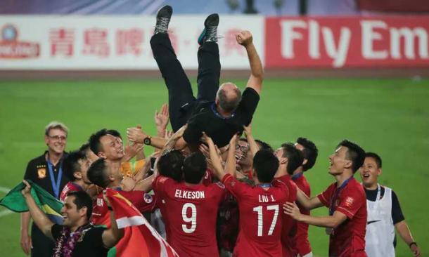 Guangzhou Evergrande é penta-campeão chinês e venceu a última edição da Liga dos Campeões Asiática(Foto: Divulgação)