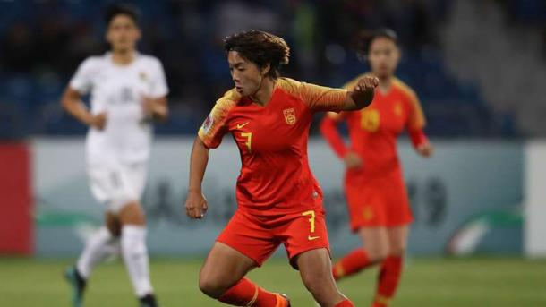 Wang Shuang is China PR's most influential player | Source: psg.fr