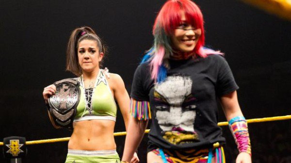 Bayley is scared photo:WWE