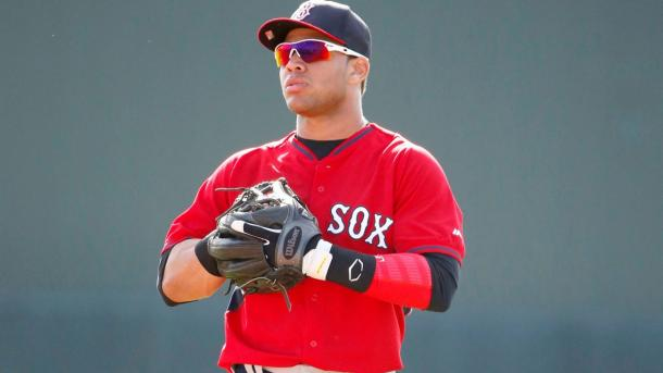 Yoan Moncada was rated as the top prospect in all of the minor leagues and he now heads to Chicago/Photo: Fox Sports