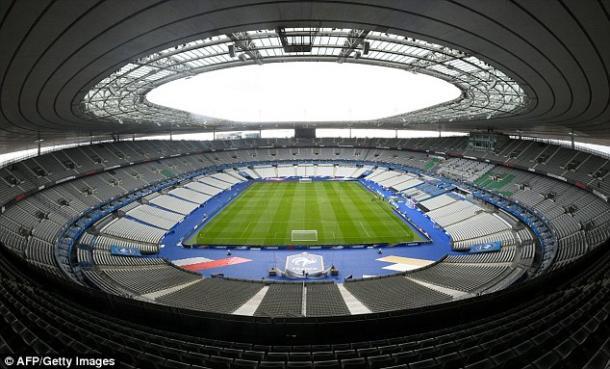 O Stade de France será o palco da Final deste Euro 2016