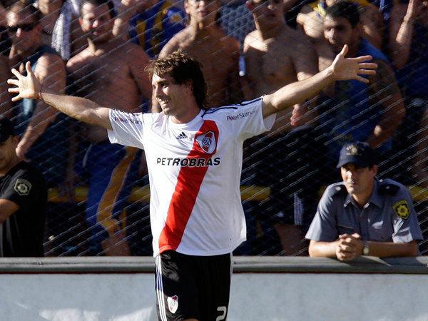 Gol a Rosario Central. fuente: Club Atlético River Plate