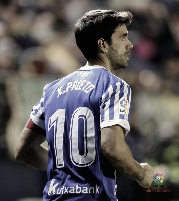 """Xabi Prieto vistiendo el dorsal """"10""""   Foto: LaLiga"""