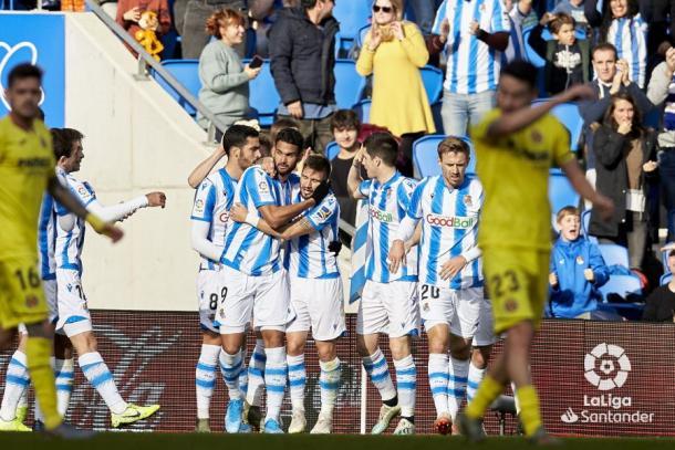 La Real Sociedad vence en la primera mitad / Foto: LaLiga