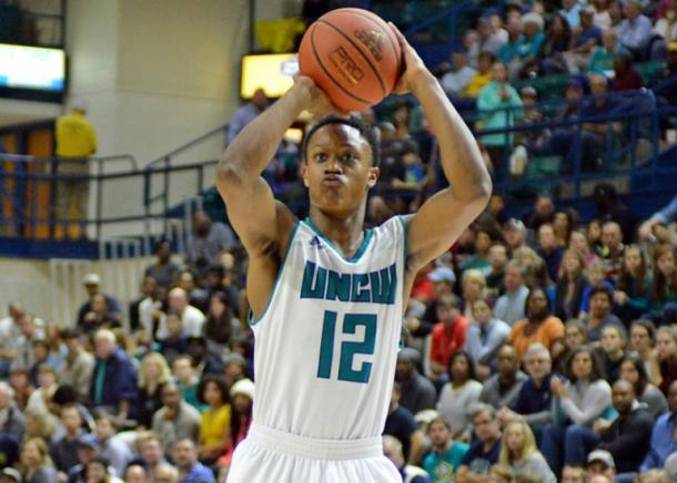 Bryce is one of the finest players in the CAA for the defending champions/Photo: UNC Wilmington Athletic Communications