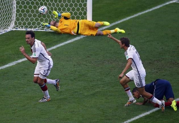 Gol de Hummels. Fuente: Marca