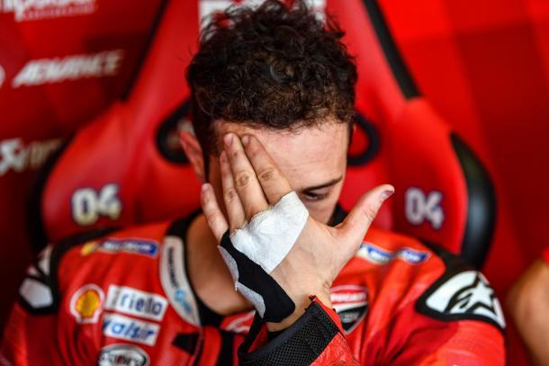 El subcampeón fue declarado 'apto' el jueves. Imagen: MotoGP