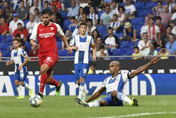 Nolito fue el autor del segundo tanto del partido   Foto: Sevilla FC