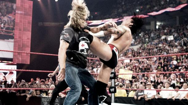 Punk cashed in on the Ultimate Opportunist. Photo- pwnews.net