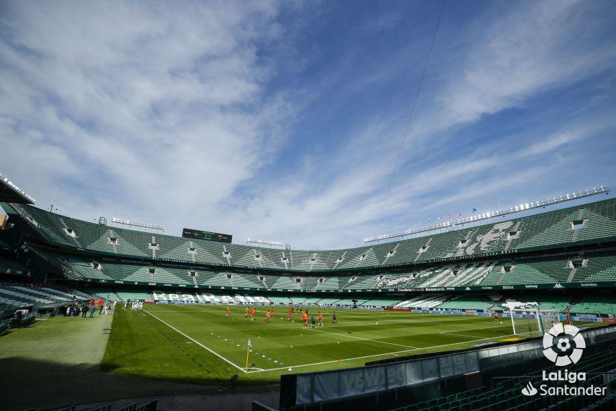 El Estadio Benito Villamarín, en un duelo de la temporada. Fuente: LaLiga