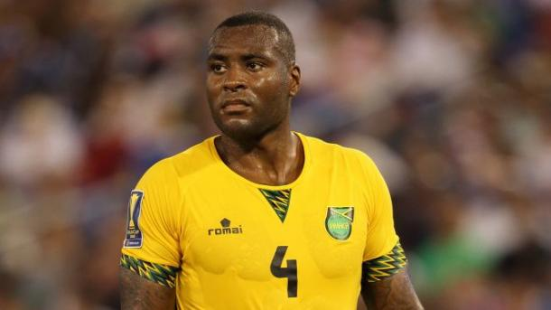 Wes Morgan will need to bring dicispline to Jamaica's back line on Thursday against Mexico. Photo provided by Getty Images.