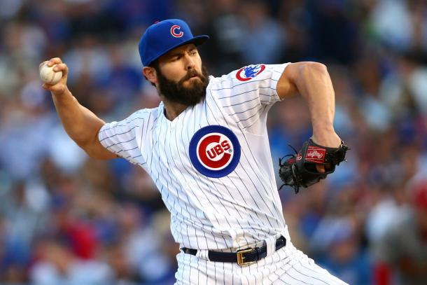 Jake Arrieta has continued to be one of the most dominant pitchers in the game even after his Cy Young Award win last season | Jerry Lai-USA TODAY Sports