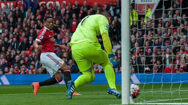 Martial scored United's all important winner against Everton | Photo: Getty Images