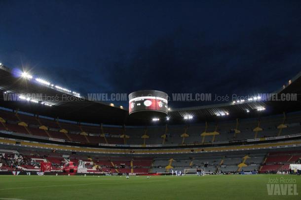 Estadio Jalisco, actual casa de los Rojinegros. / Fuente: José Acosta | VAVEL
