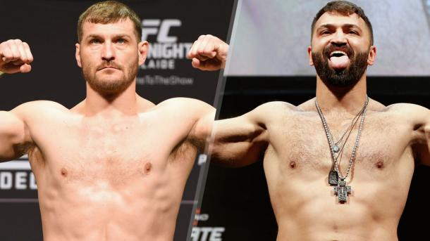 Barnett (L) and Arlovski will both be hoping to kick-start another title challenge | Photo: FoxSports