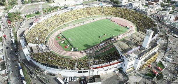 El Olímpico Atahualpa en todo su esplendor   Foto: Google