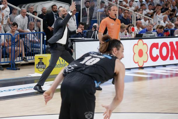 Buscaglia Maurizio Dolomiti Energia Aquila Basket Trento - Umana Reyer Venezia Legabasket Serie A 2017/18 Semifinali, Gara 04 Trento, 31/05/2018 Foto MarcoBrondi / Ciamillo-Castoria