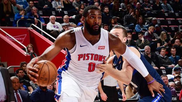 (Drummond tem média de 15.8 rebotes por partidas na atual temporada. Foto: Foto/Detroit Pistons)