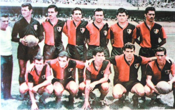 Equipo campeón de la Copa México y del Campeón de Campeones en 1962. / Fuente: Atlas FC