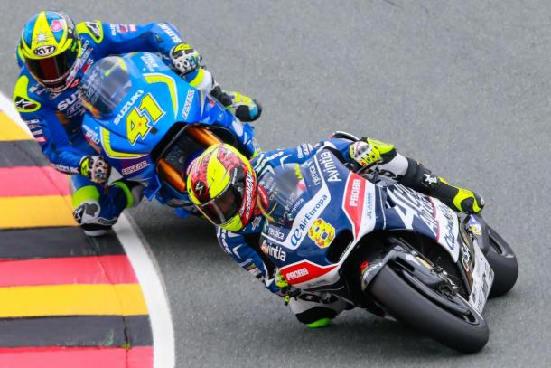 A qualifying to remember for Barbera | Photo: MotoGP