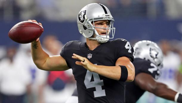 Derek Carr has another target to look for this season | Source: raiders.com
