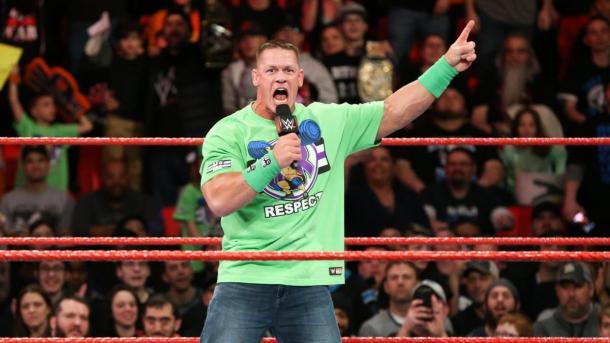 John Cena es un experto a la hora de hacer promos, durante mucho tiempo ha sido la cara de la empresa. Foto: WWE