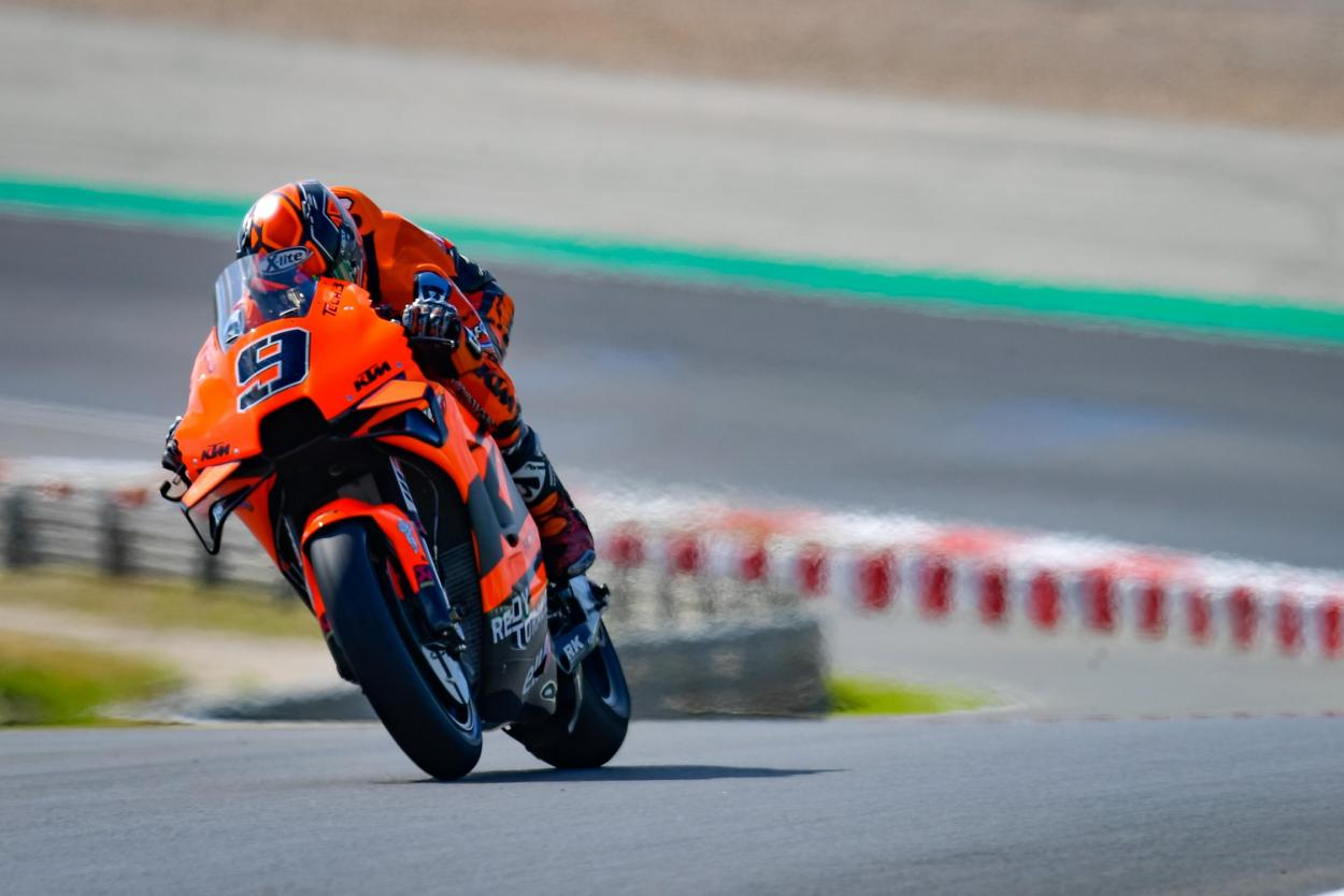 Danilo Petrucci acabó 13º en Portugal. Imagen: MotoGP