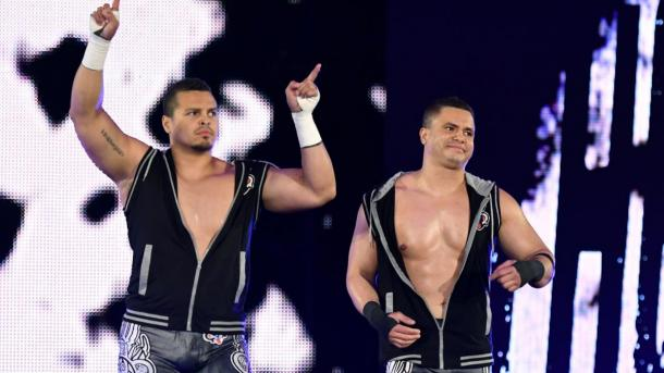 The Colons set to be released from WWE? (image: wwe)