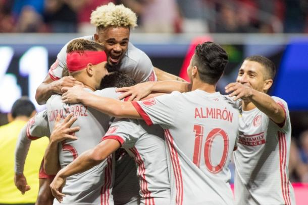 Atlanta put seven past the New England Revolution on Wednesday night | Source: atlutd.com