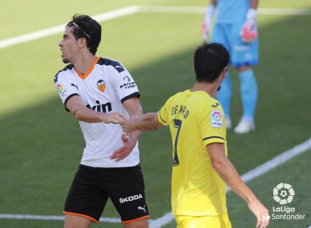 Último partido entre el Villarreal y el Valencia / Foto: LaLiga