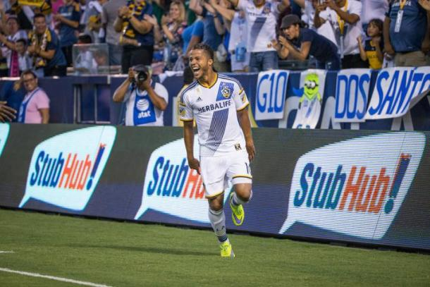 The Los Angeles Galaxy will be hoping that Giovani dos Santos can make full recovery from his leg injury as soon as possible. Photo provided by the LA Galaxy.