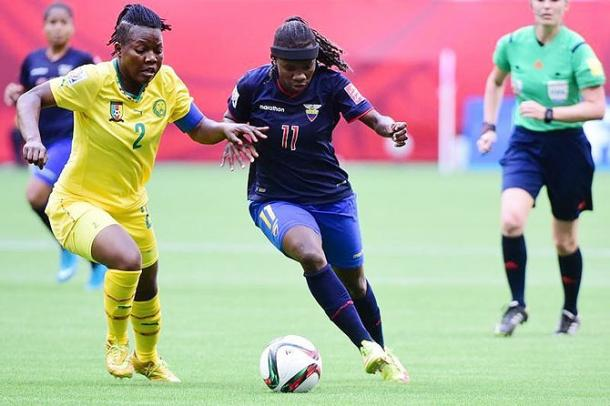 Christine Mani is key to Cameroon's potential success | Source: Rich Lam-Getty Images