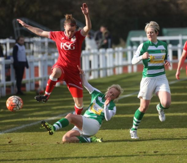 Yeovil knocked out Bristol in the last round. | Photo: Women's Soccer United