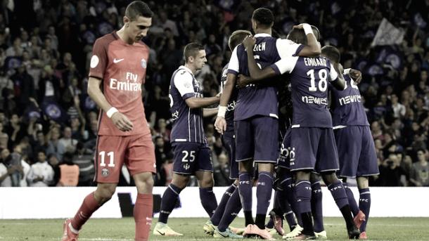 Il crollo del PSG contro il Tolosa | www.marca.com