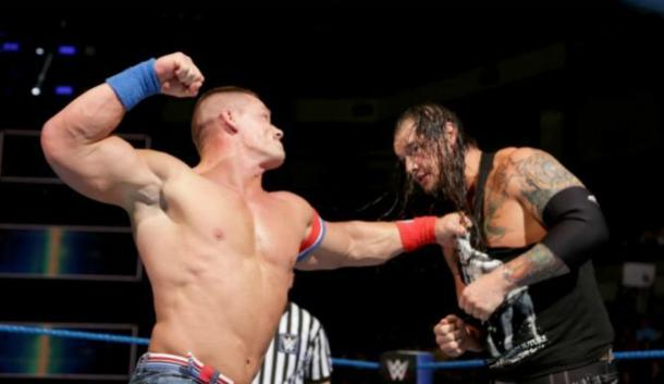 John Cena stopped Baron Corbin from becoming WWE Champion (image: sportskeeda)