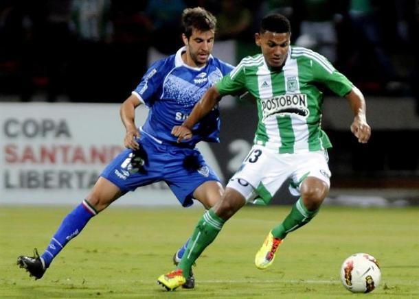 Francisco Cerro autor del gol que clasificó a Vélez. | Foto: Getty Images