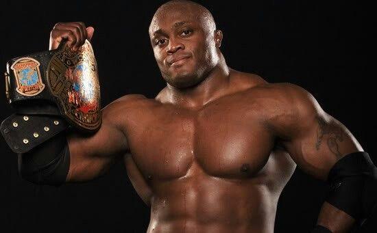 Lashley como campeón de ECW. | Foto: WWE