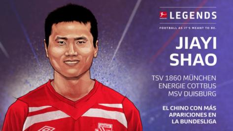 Jiayi Shao histórico en la Bundesliga | @Bundesliga_ES