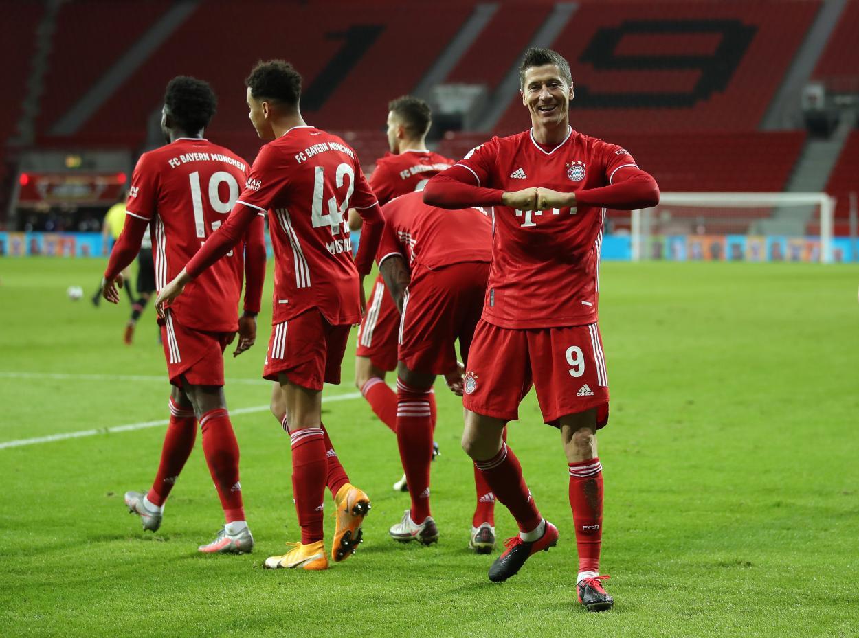 Lewandowski, gol decisivo en el último minuto / FOTO: @FCBayern