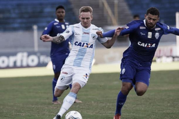 Experiente Edinho foi uma das peças que deixaram o CSA durante a Serie B. Foto: Londrina EC