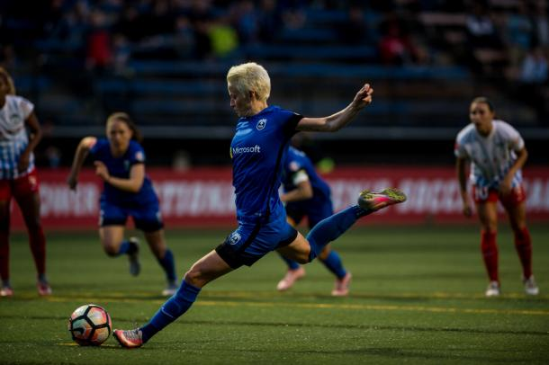 No one in the NWSL is playing better than Megan Rapinoe right now | Source: thebold.net