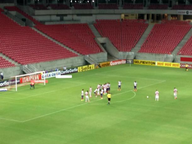 Equipes se enfrentaram no ano passado e o Timbu venceu por 1 a 0 (Foto: Divulgação/Náutico)