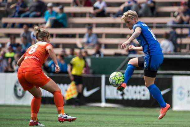 Jess Fishlock opened the scoring as the Reign went on to win 5-1 | Source: thebold.net