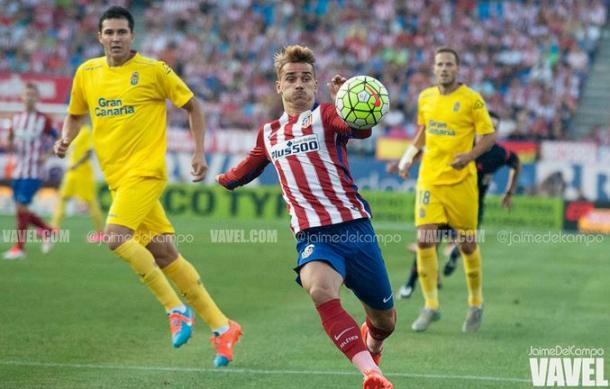 Griezmann fue el goleador en el encuentro contra UD Las Palmas | Imagen: Jaime del Campo (VAVEL)