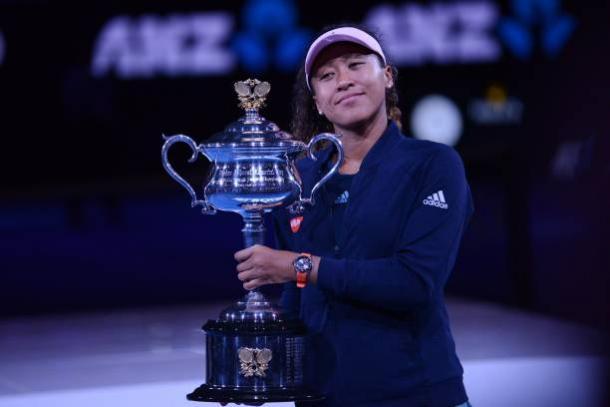 Osaka, 2019 Australian Open women's singles winner. Photo: Anadolu Agency