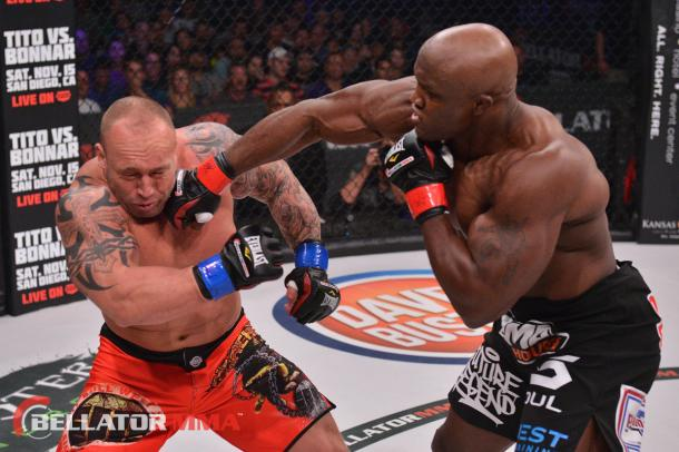 Lashley has been a great success at pro wrestling and MMA (image: mymmanews.com)